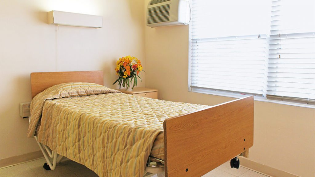 Bedroom single bed – Community Care