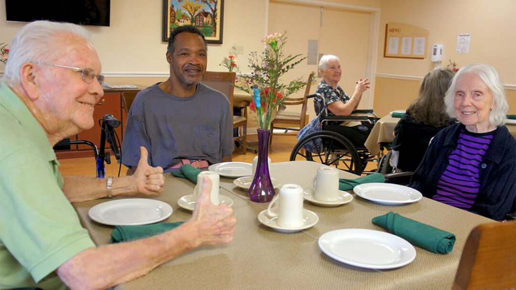 DSC03122 – Dining Residents 2 – Community Care