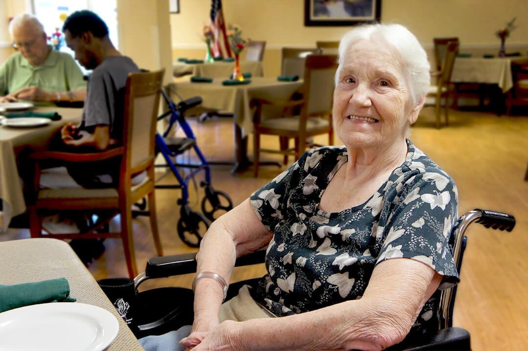 DSC03124 - Resident Pic Woman 1 - Community Care